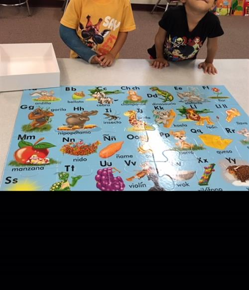 425a16db8146 A typical day in bilingual kindergarten begins with us sharing thoughts and  stories in Spanish